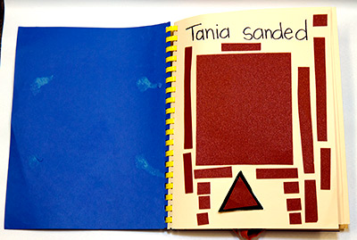 Inside page: Tania Sanded